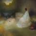 Angyal az ágy szélén II. (200x250 cm, olaj, vászon, oil on canvas, 2011)