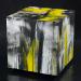 Gestrure box II (50x50x50 cm, vegyes technika, fatabla, 2014)