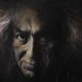 Faludy a költő / Faludy, the Poet (60x80 cm, olaj, vászon, oil on canvas, 1998)