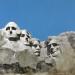 Mount Rushmore Nemzeti Emlékhely / Mount Rushmore National Monument (90x130 cm, olaj, vászon, oil on canvas, 2009)