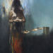 Ebed (150x110 cm, olaj, vaszon, 2013)