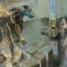 Adatgyujtok / Data collectors (110x180 cm, olaj, vaszon, oil on canvas, 2013)