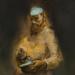 Autodidakta / Autodidact (70x60 cm, olaj, vaszon, oil on canvas, 2013)