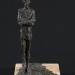 J.A. (15x15x27 cm, bronz, kő, 2005)