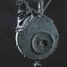 Ejkiralyno (162x24x17 cm, vvbronz, vas, granit, 2014)