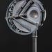 Kompasz (153,5x32x21 cm, vvbronz, vas, granit, 2014)