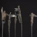 Meditáció sorozat I. / Meditation series I. (viaszveszejtéses bronz, vas, bazalt, lost-wax bronze, iron, basalt, 2012)
