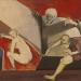 Zsuzsanna fürdője és még az öregek I. / Zsuzsanna's bath and more the elders I. (60x75 cm, olaj, vászon, oil on canvas, 2007)