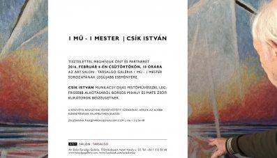 Csík István 1Mű – 1Mester