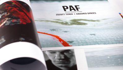 PAF I Zúzott Terek I Könyvbemutató