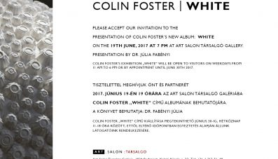Colin Foster könyvbemutató