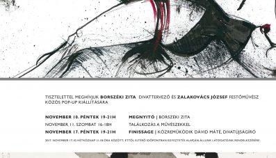 Zalakovács József & Borszéki Zita I pop-up kiállítás