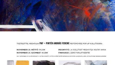 PAF I pop-up kiállítás