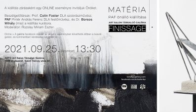 PAF / MATÉRIA / FINISSAGE